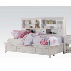 ACME Lacey Daybed w/Storage (Twin) - 30590T - White