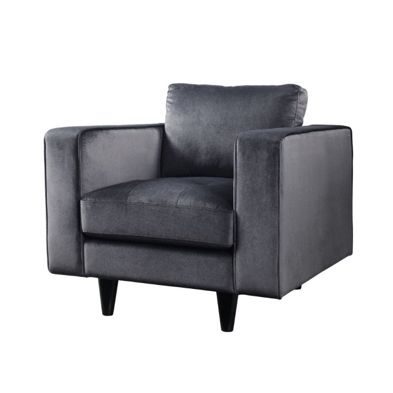 ACME Alwin Modular - Armless Chair - 53722 - Dark Gray Fabric