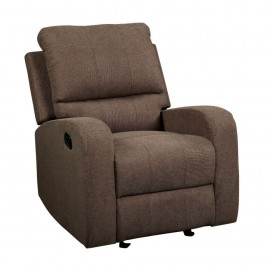 ACME Livino Recliner - 55832 - Brown Fabric