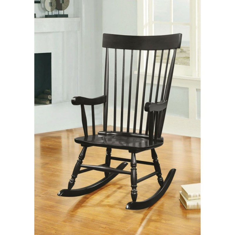 ACME Arlo Rocking Chair - 59297 - Black