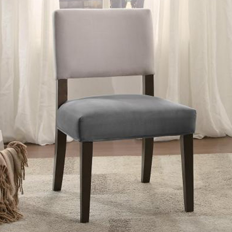 Jacinta Collection's Accent Chair, Two-Tone