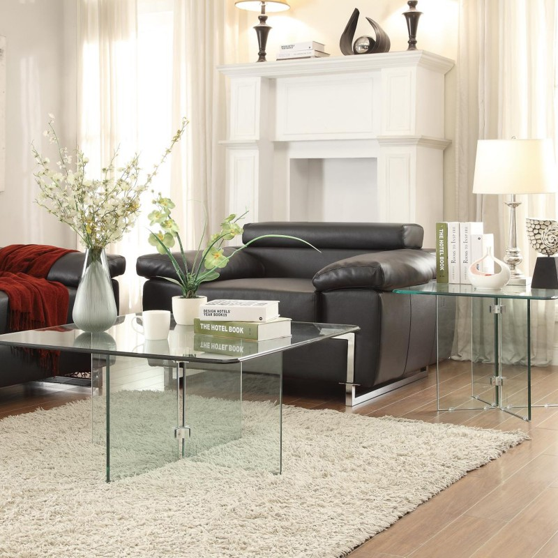 Alouette Collection's Table with All Glass